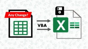 Save Excel Workbook on a Cell or Range Change