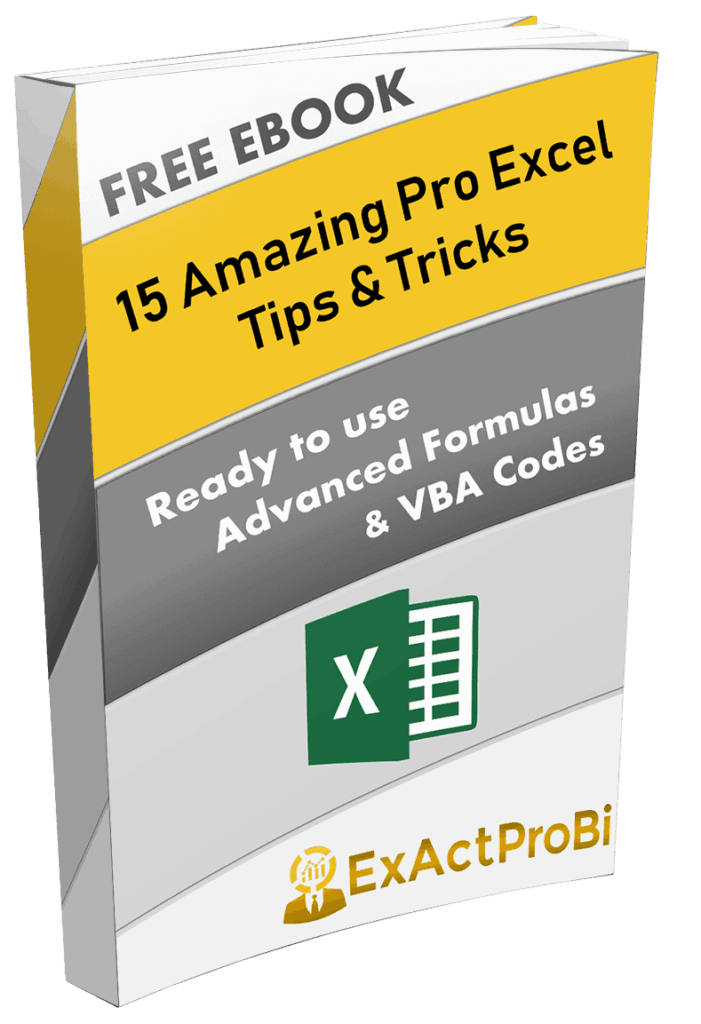 FREE Advanced Excel Ebook