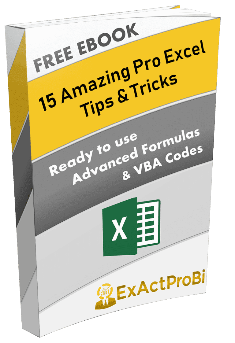 FREE Advanced Excel Ebook